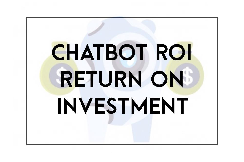 chatbot ROI