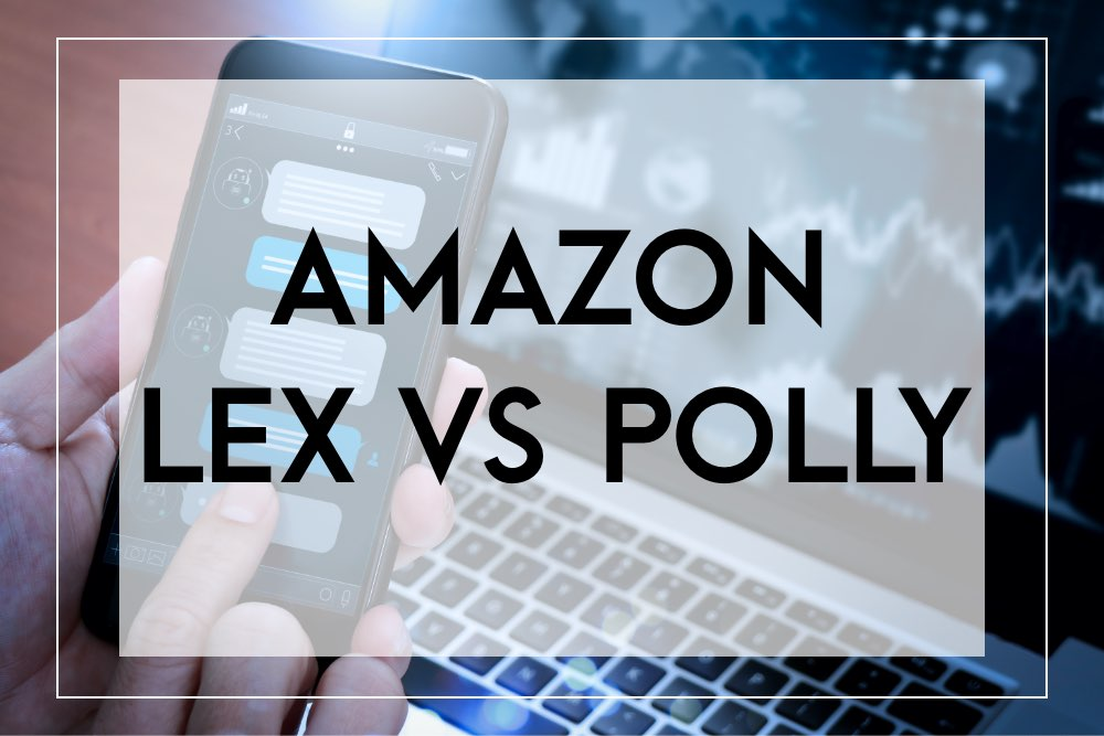 Difference between amazon lex vs polly
