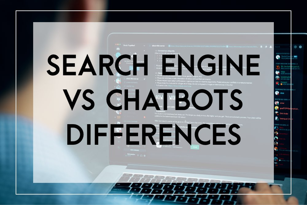 Search engine vs chatbot differences